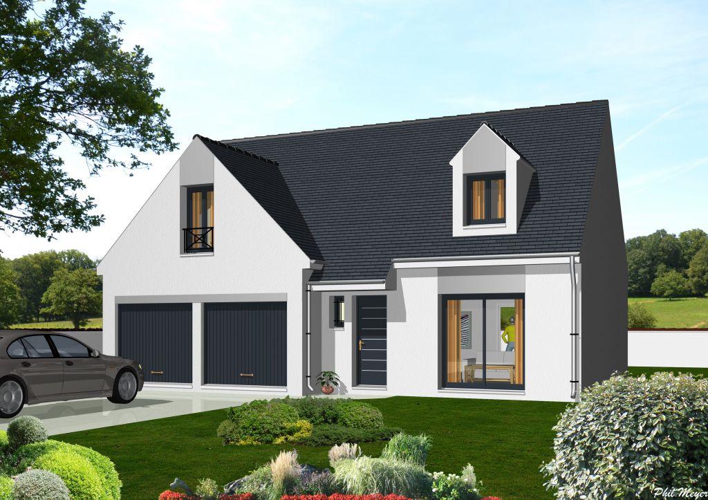 Mod le et plan de maison individuelle boissy for Modele de maison individuelle