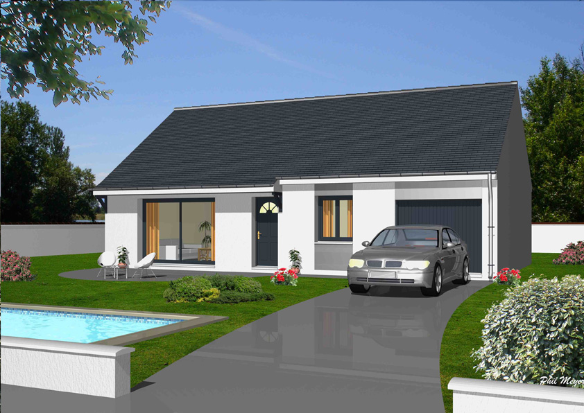Modeles de maison a construire maison sommiere par babeau for Modele de maison a construire