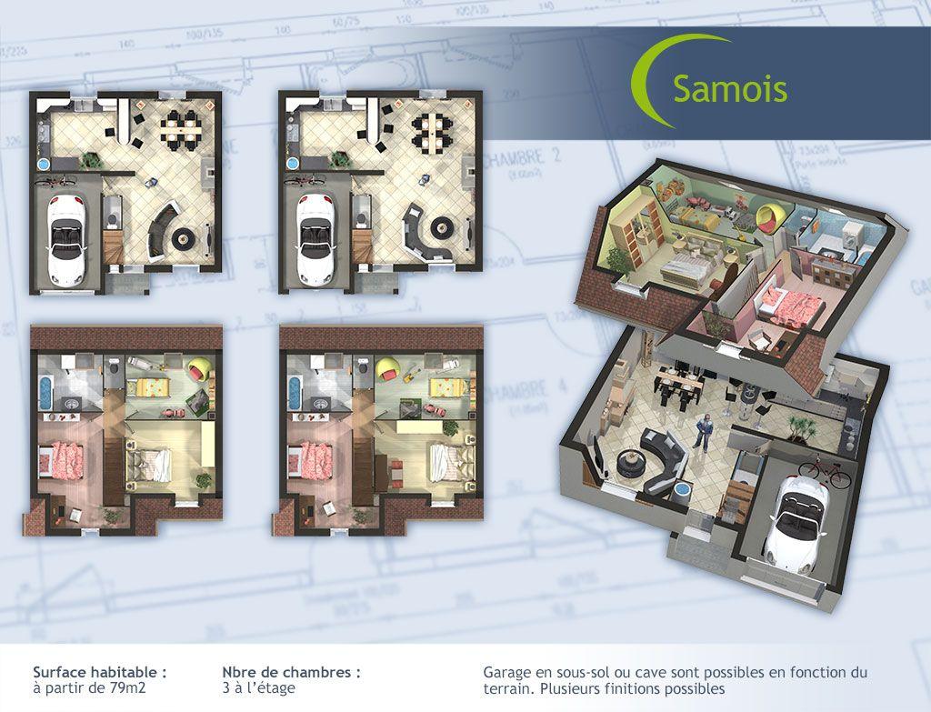 Modele Et Plan De Maison Individuelle Samois