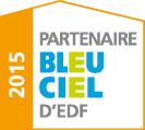 Logo bleu ciel edf